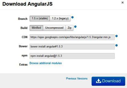 angularjs environment-setup