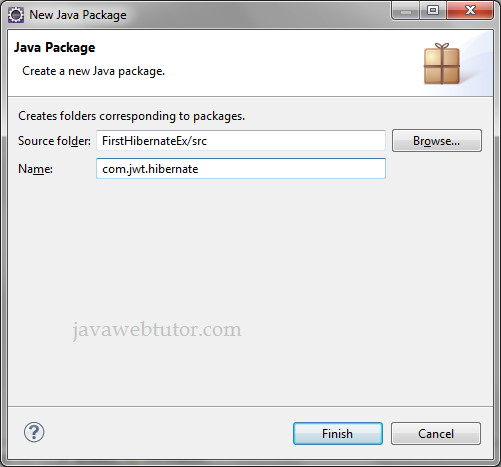 Hibernate Example in Eclipse