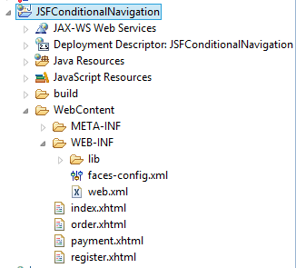 JSF Conditional Navigation