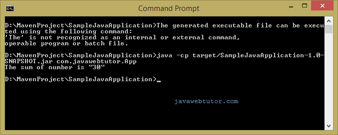 maven java project