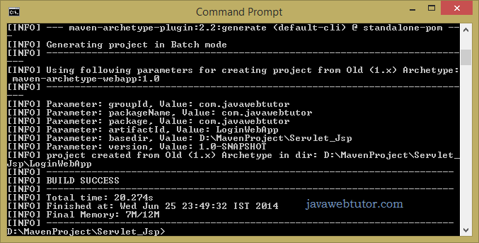 Login application using jsp, servlet,jdbc and Maven | Java