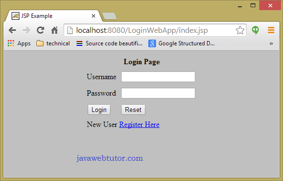 how to login to a website using java