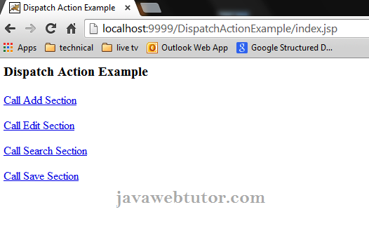 Struts Tutorial | Java Web Tutor
